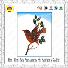 Beautiful design Iron colored bird patterm handicraft exporters