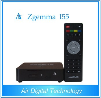 2017 Best selling Linux Smart Box Zgemma i55 Dual Core global iptv box