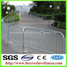 wholesale galvanized pedestrian safety barrier(factory, Anping)