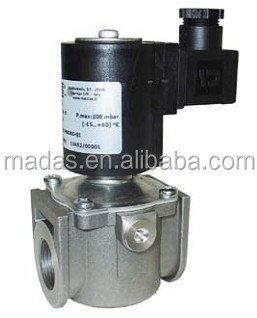 Safety Electric Natural Gas burner control Solenoid Valve For Non-corrosive Gases
