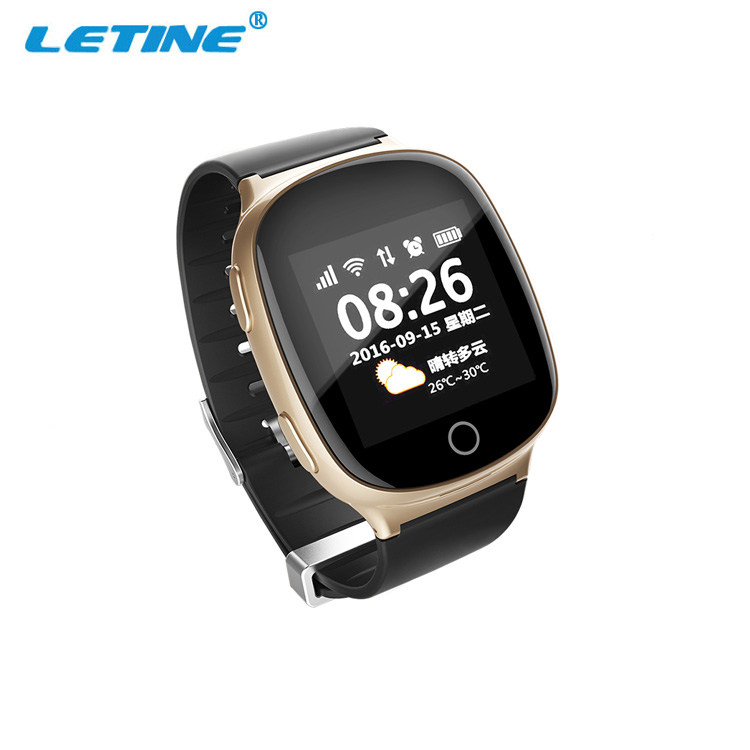 2018 Wholesale Price Best CE ROHS WIFI SOS Sports watches for Children Elderly GPS Watch <strong>D100</strong>