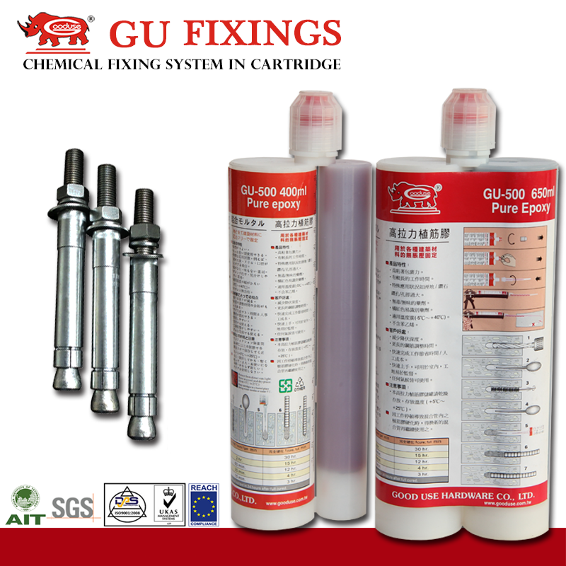 Ultimate performance epoxy resin and hardware china treatment adhesiveness anchor bolt galvanized