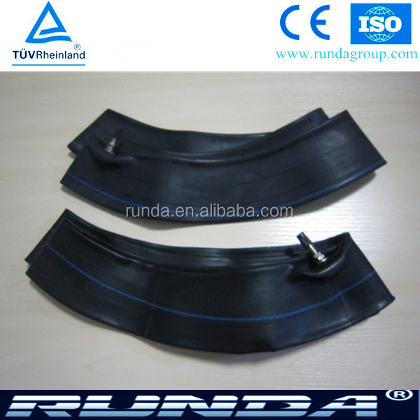 butyl rubber and natural rubber motorcycle tire tube