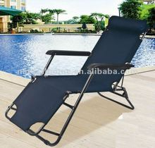 Outdoor furniture portable cheap folding beach lounge chair
