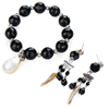 Hot African Fashion Black Bridal Jewelry