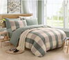 /product-detail/5pcs-320-thread-count-queen-size-yarn-dyed-plaid-bamboo-bed-sheet-chinese-60356282344.html