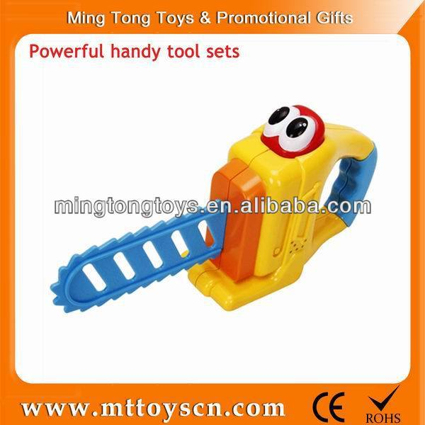 Mini many kinds of power electric handy plastic toy tool