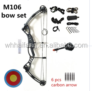 Archery hunting compound bow, AMBIDEXTROUS BOW