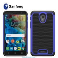 Factory Cheap Price TPU PC Combo Mobile Phone Cover Case for Alcatel Fierce 4 Allura Pop 4+ 5056