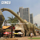 Animated moving dinosaur model theme park