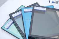 High quality solar control 6+12A+6 reflective insulated glass units price