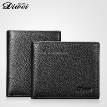 2016 Young Business Men's Genuine Leather Card Holder <strong>Wallet</strong>