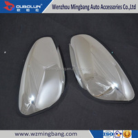 Car Accessories For PEUGEOT 2008 2014 car Exterior Accessories ABS Chrome Door Mirror Cover