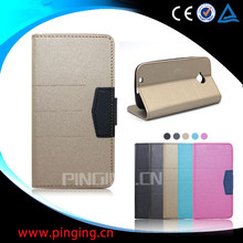 Guangzhou Pinjun scrub flip leather cover mobile phone case for Gionee A1 , wallet case for Gionee A1