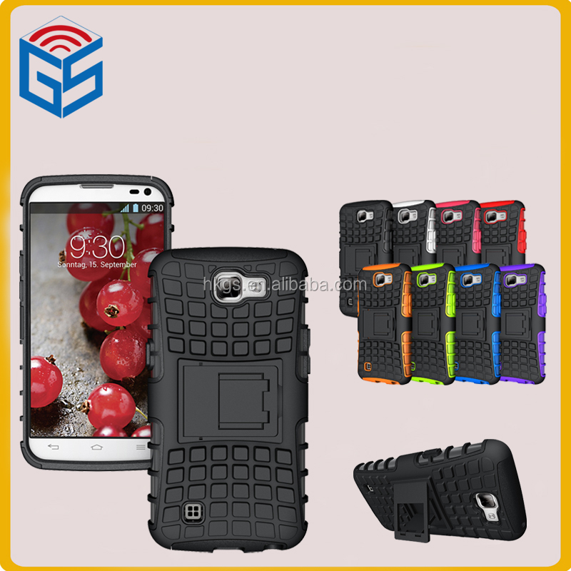 Combo Kickstand Case For LG K4 K120E K130E TPU+PC Shockproof Cover Import From Indonesia