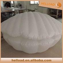 custom made 2m giant inflatable replicas clam shell, air seashell balloon for display
