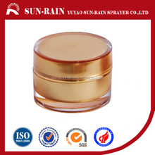 Empty luxury and high end cosmetic packaging face plastic cream jar
