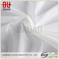 China supplier transparent polyester mesh fabric for mosquito net