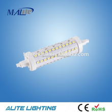 LED Replacement Security Flood Light Bulb R7S Cool White Dimmable 8W 118mm