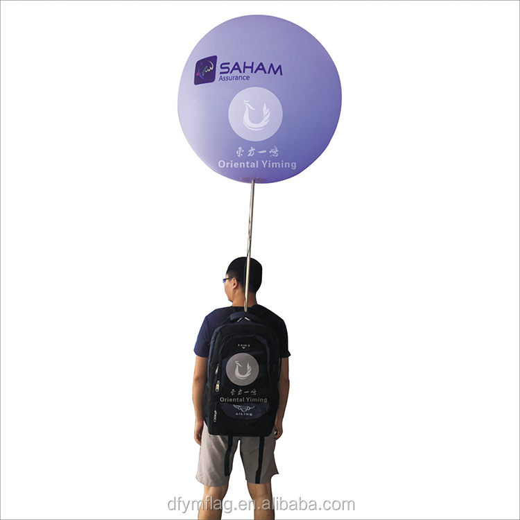 Led Balloon With Lighted Balloon Inflatable Bubble Advertising Backpack Balloon
