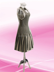 2016 fashion design wedding dress,fashion dress female metal wire mannequin