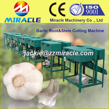 Smaller type garlic harvester and garlic root cutter machine for garlic planting farm