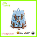 High Quality portable teenagers canvas backpack