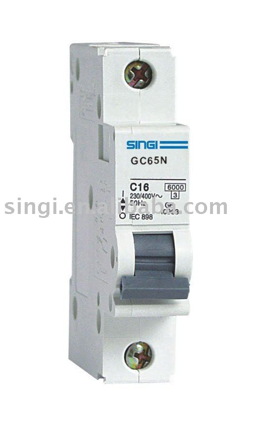 C65 MCB/MINIATURE CIRCUIT BREAKERS