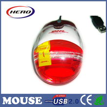 2015 Best wired optical mouse with custom floater and liquid filled