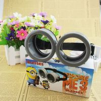 Minions 3D Glasses Despicable Me Cartoon Circular Cute Passive Polarized For RealD For Children and Adult For 3D TV For Cosplay