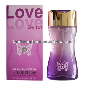 2014 New Purple Love Brand Hot Sale perfume