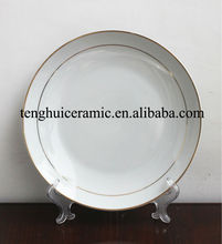 Ceramic Set Round Dinner Plate New Year Tableware