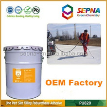 Professional-grade cement color Repairing Cracked Concrete Polyurethane Self-Leveling Sealant