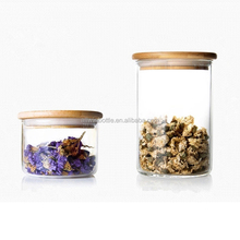 Hot Sale Various size glass food storage jars with rubber ring 400ml 530ml 600ml