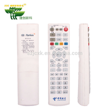 Good performance durable ABS and rubber Material Black or white multi frequency universal remote control