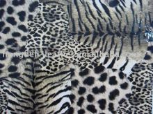 animal grain leather(tiger grain,leather with tiger grain,PU/PVC with animal grain)