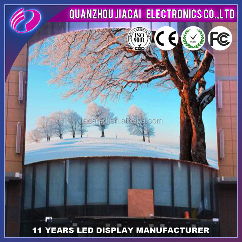 P8 outdoor advertising video wall full color rental led display screen