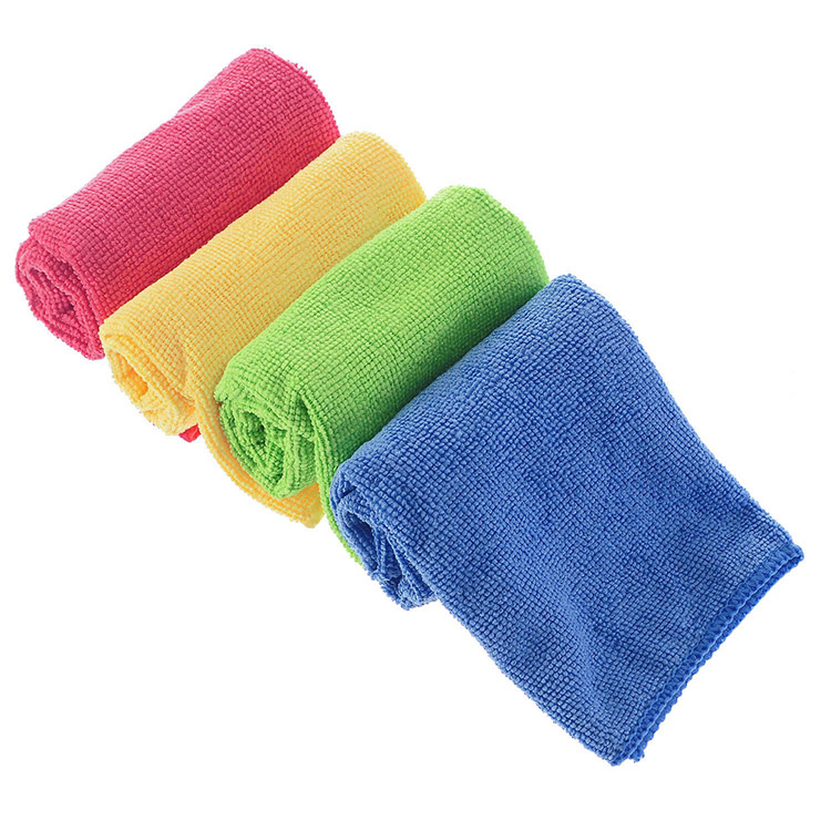 Factory offer microfiber cleaning cloth microfiber cloth for cleaning