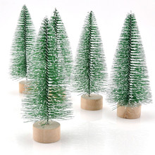 MINI snow pine needle tabletop Artificial Christmas Tree