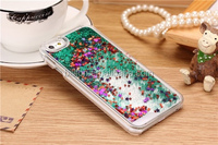 glitter flowing liquid star case for iPhone 6 plus,for iphone 6 plus case