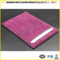 Multi-function Multipurpose Universal Colorful Portable Soft Clean Cloth Velvet Faux Suede Sleeve Case For Ipad
