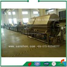 Sanshon Fruit, Vegetable, Carrot Processing Line