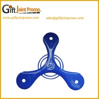 Promotional Plastic Triangle Pet Frisbee, Plastic Frisbee