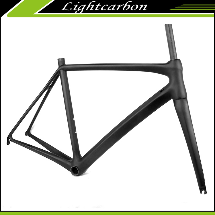 2016 LightCarbon Full Carbon Fiber 700C Road Bicycles Frame Supply OEM LCR001-V