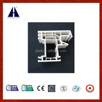 Huazhijie upvc door and window frame for 70 casement