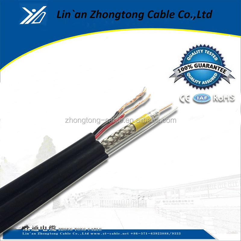 Good quality rg6+cat5e hybrid cable