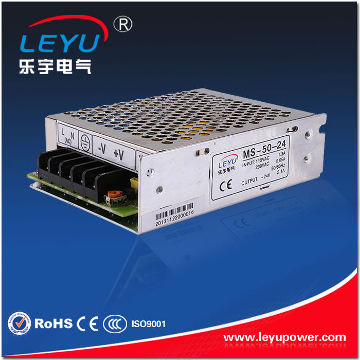 Factory outlet MS-50-12 50w mini size power supply dc output 12v 4.2a for led driver