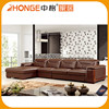 Living Room Upholstery Artistic China Leather Sofa Furniture