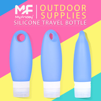 2015 Fashion OEM beautiful mini bpa free silicone squeeze flair bottle