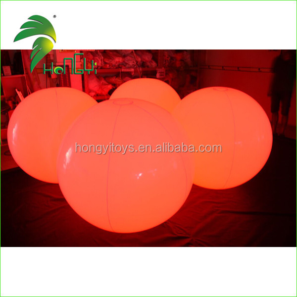 Hot Selling Inflatable LED Lighting Balloon,inflatable Wedding Balloon For Decoration